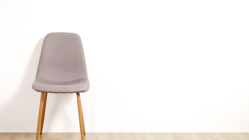 An empty chair representing an employment vacancy