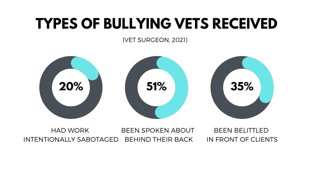 veterinary bullying