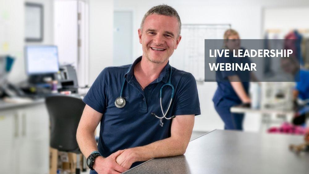 veterinary leadership webinar